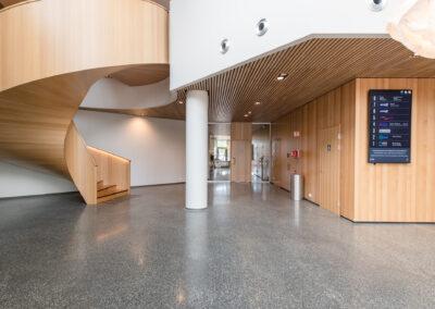 Lobby i første etasje